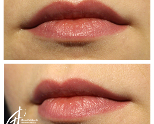 Permanent Make Up Lippen