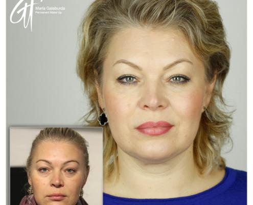 Permanent Make Up Gesicht