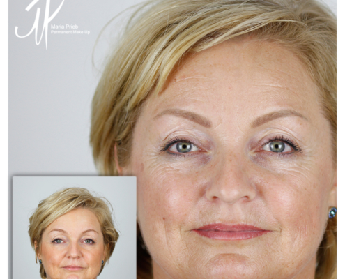 Permanent Make Up Gesicht
